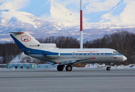 самолет Камчатское авиапредприятие
